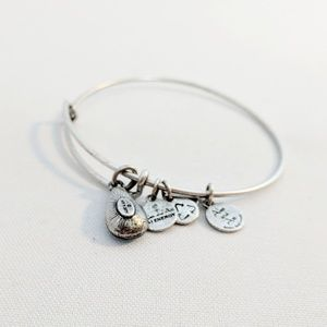 Alex and Ani Jewelry - Alex and Ani Silver December Swarovski Bracelet